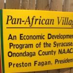 Pan-African Village is an Economic Development program of the Syracuse/Onondaga NAACP