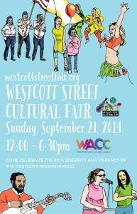 Westcott Street Cultural Fair 2014 Poster