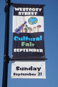 Westcott Street Cultural Fair Banner