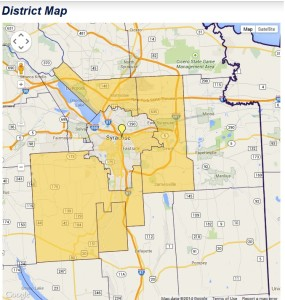 128 Assembly            District Map