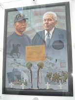 Latham and Tarbell Portrait Minority Wall Memorial at OnCenter