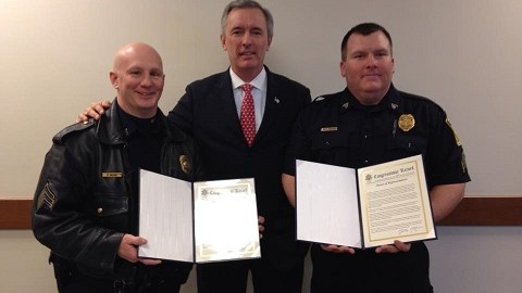Katko Honors Local Police Officers