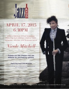 Nicole Mitchell is a creative flutist, composer, bandleader and educator