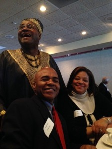 Special Honors recipient John JohnWilliams III, with Dr. George Trusty and Common Councilor, Pamela Hunter.