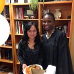 Jennifer Hirela and Shaylene Weigela