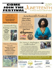 Juneteenth Festival Poster(click to enlarge image)