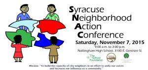 SNAC syracuse neighborhood action conference
