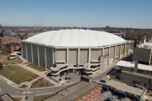 Carrier Dome with its iconic pillow top