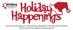 Holiday Happenings Armory Square Banner 2015