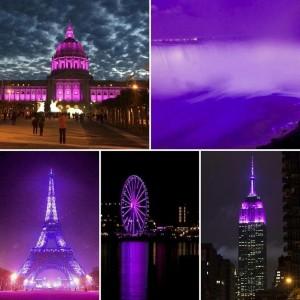 Purple rain global
