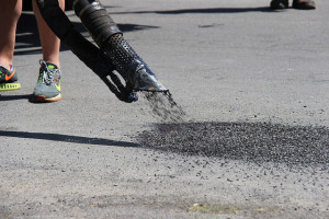 One of 3,000 Potholes Filled Since Mid April
