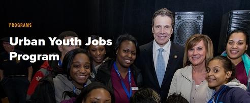urban youth jobs program_Cuomo