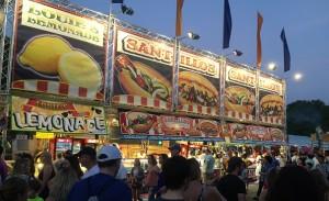 State Fair Food Vendor Sausage