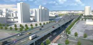Interstate 81 new viaduct