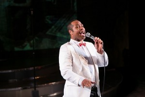 Redhouse Favorite Temar Underwood, seen here performing in Redhouse's production of Ragtime, will perform the role of Beast in the upcoming performances of Disney's Beauty and the Beast.
