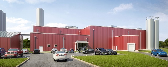 Craig's Station Creamery, factory rendering